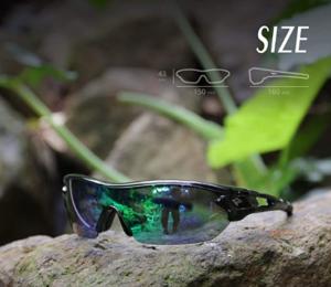 9: Outfit frame 3 Interchangeable TOREGE Tennis Sport Sunglasses(Suitable frame)
