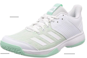 Adidas Ligara 6 is the best pair of shoes that a sportswoman can get. These shoes are not only of great quality but are also affordable. You can also use these shoes to play other court games like volleyball.