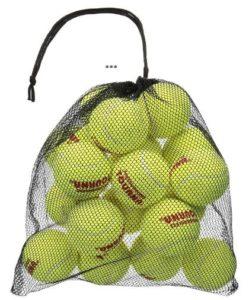 Mesh carry TOURNA Bag of 18 Tennis balls (Perfect made)