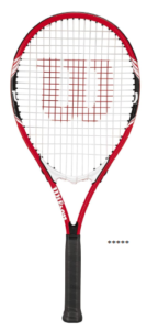 That Wilson Federer tennis racquet is designed with an adult recreational player in memory. Made of the Air lite Alloy, the racquet highlights VFT to offer a stability of strength and durability.