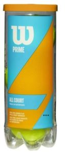 Prime Wilson all court tennis balls(classical spin)