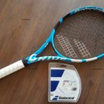 Tennis rackets for intermediates are made from a mixture of Graphite or Carbon Fiber. It serves two primary purposes. The first thing making the racket hard and to bring stability throughout the action of the racket within the space.