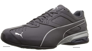 These puma shoes have the most stylish design paired with decent colors to compliment your sportswear. You will get a comfortable shoe with a tough outer surface. These shoes are also best for people with wide feet.