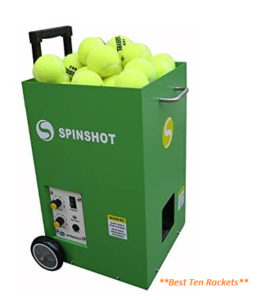 Spinshot Lite Tennis Training Machine Basic Model ( Excellent in work )