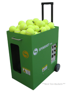 Spinshot Pro Tennis Ball Machine (Best for easy use)
