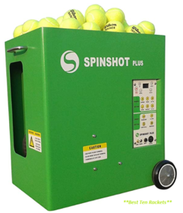 Spinshot Plus Tennis Ball Machine (Best for intermediate)