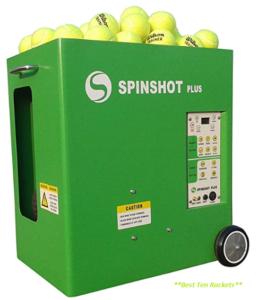 Spinshot Plus Tennis Ball Machine (Best for intermediate)
