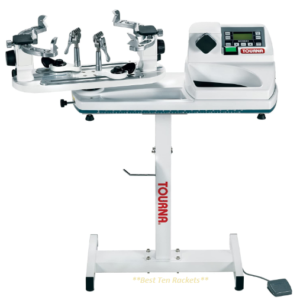 Tourna 600-ES Constant Pull Electric Stringing Machine with Floor Stand (Long Lasting)