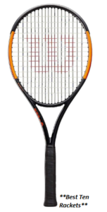 Wilson Burn 100 Series Tennis Racket ( Best Design )