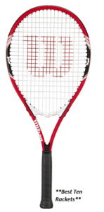 Wilson Federer Tennis Racquet (EA) (Best overall)