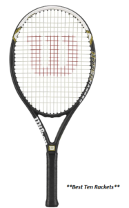 Wilson Hyper Hammer 5.3 Strung Tennis Racket ( Best Durable )
