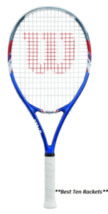 Wilson US Open Adult Strung Tennis Racket ( Best Economical )
